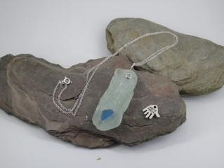 New sea glass jewellery