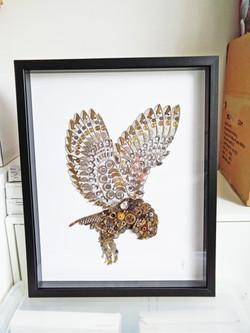 Stoptick art Owl