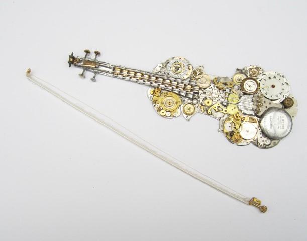 Stoptick art Violin