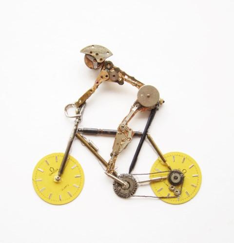 Stoptick Man on bike