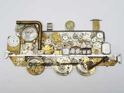 Stoptick art Steam Train