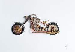 Stoptick art large motor bike