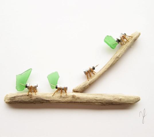 Stoptick Leaf cutter ants