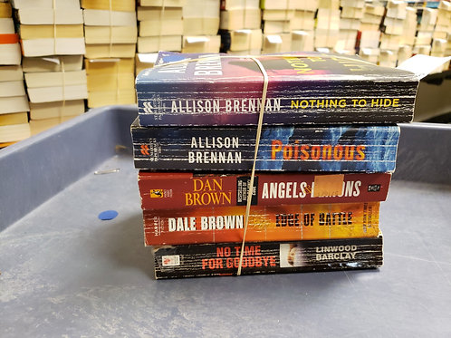 Allison Brennan Dan Brown Dale Brown Linwood Barclay