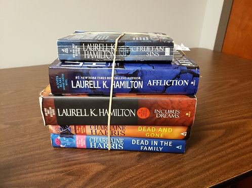 Scifi fantasy Laurell K. Hamilton Charlaine Harris