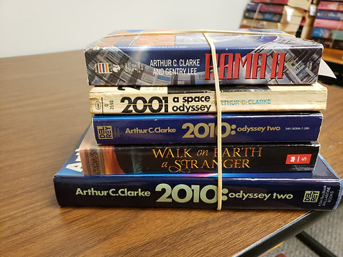Sci-fi fantasy Arthur C. Clarke Carson