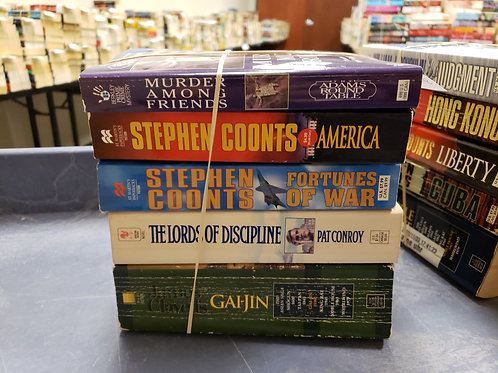 Stephen Coonts pat Conroy James Clavel
