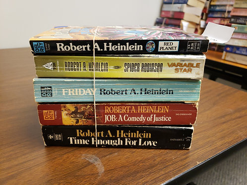 Sigh fi fantasy Robert Heinlein