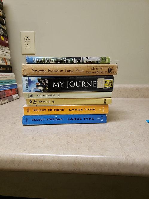 Large print readers Digest favorite poems my journey