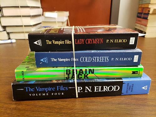 Scifi fantasy P. N. Elrod  Falkner