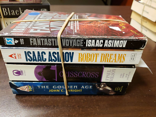 Sci fi fantasy Asimov Wright Wilson