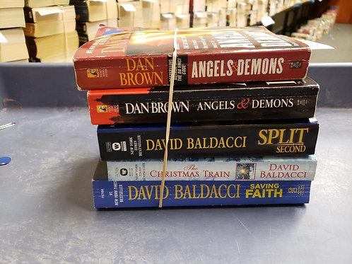 Dan Brown David baldacci