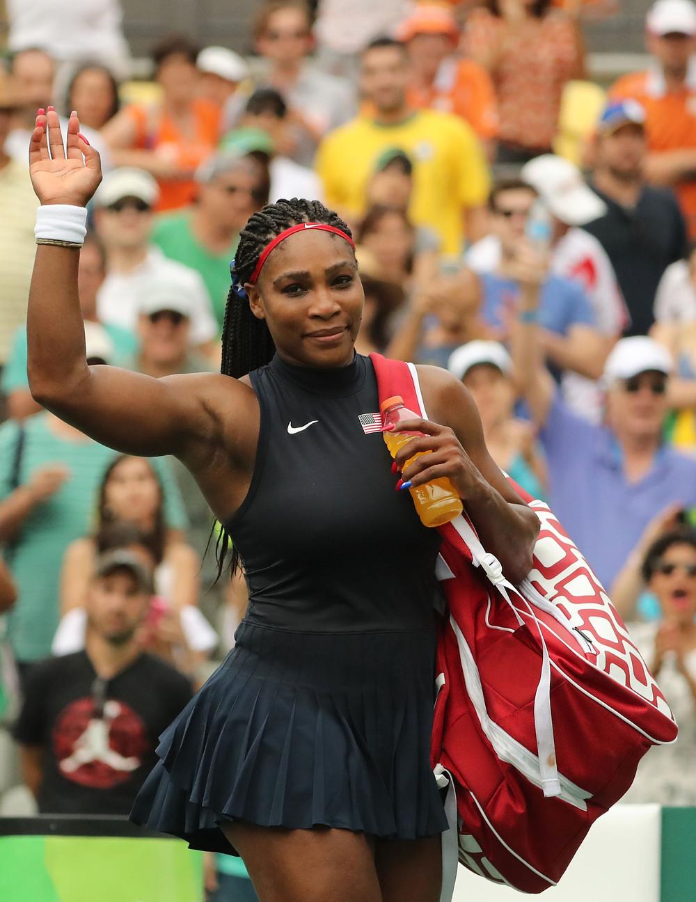 Image of Serena Williams - Copyright : Leonard Zhukovsky