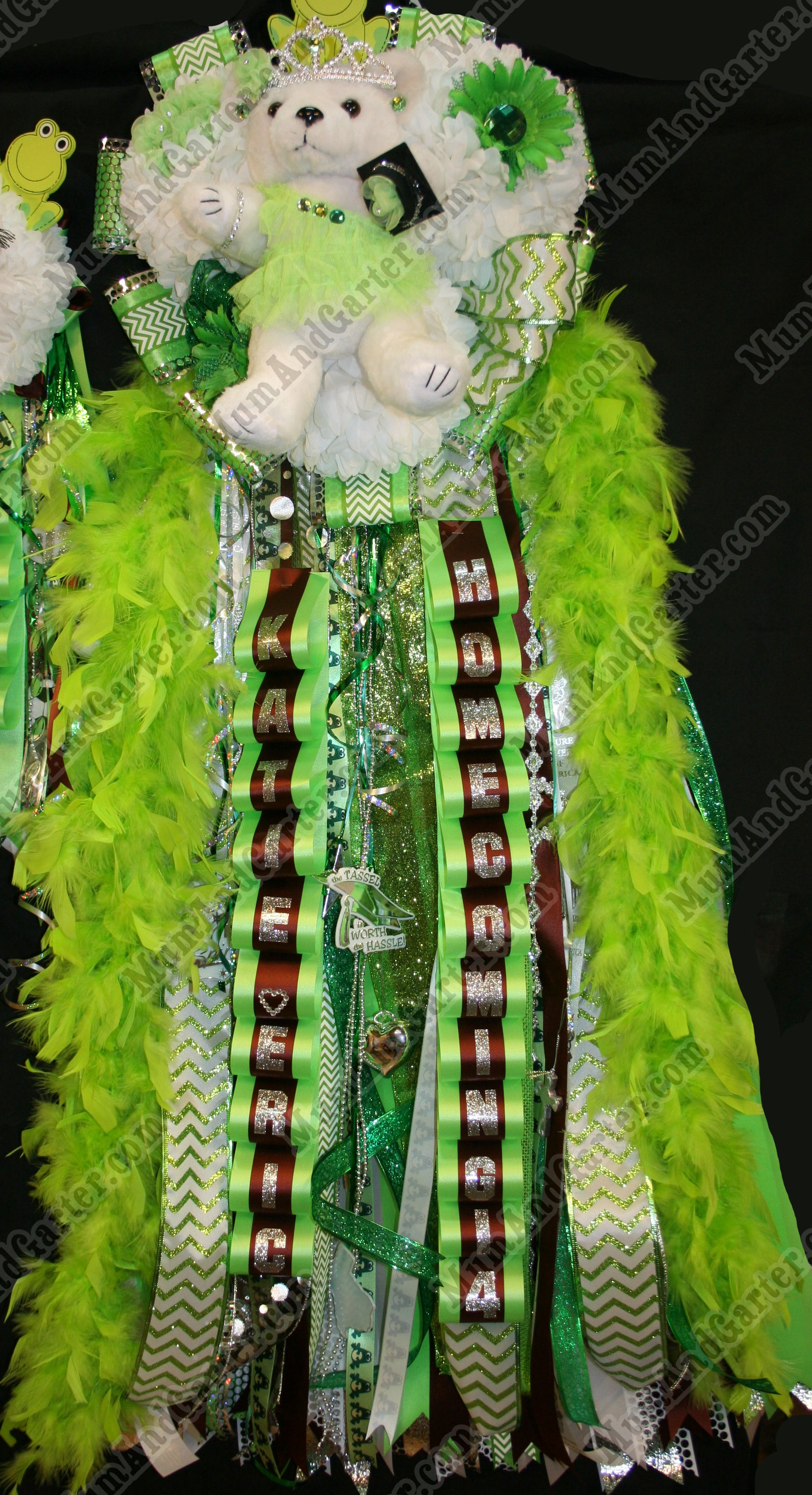 Senior Mega Mum-Top-Lime Green2