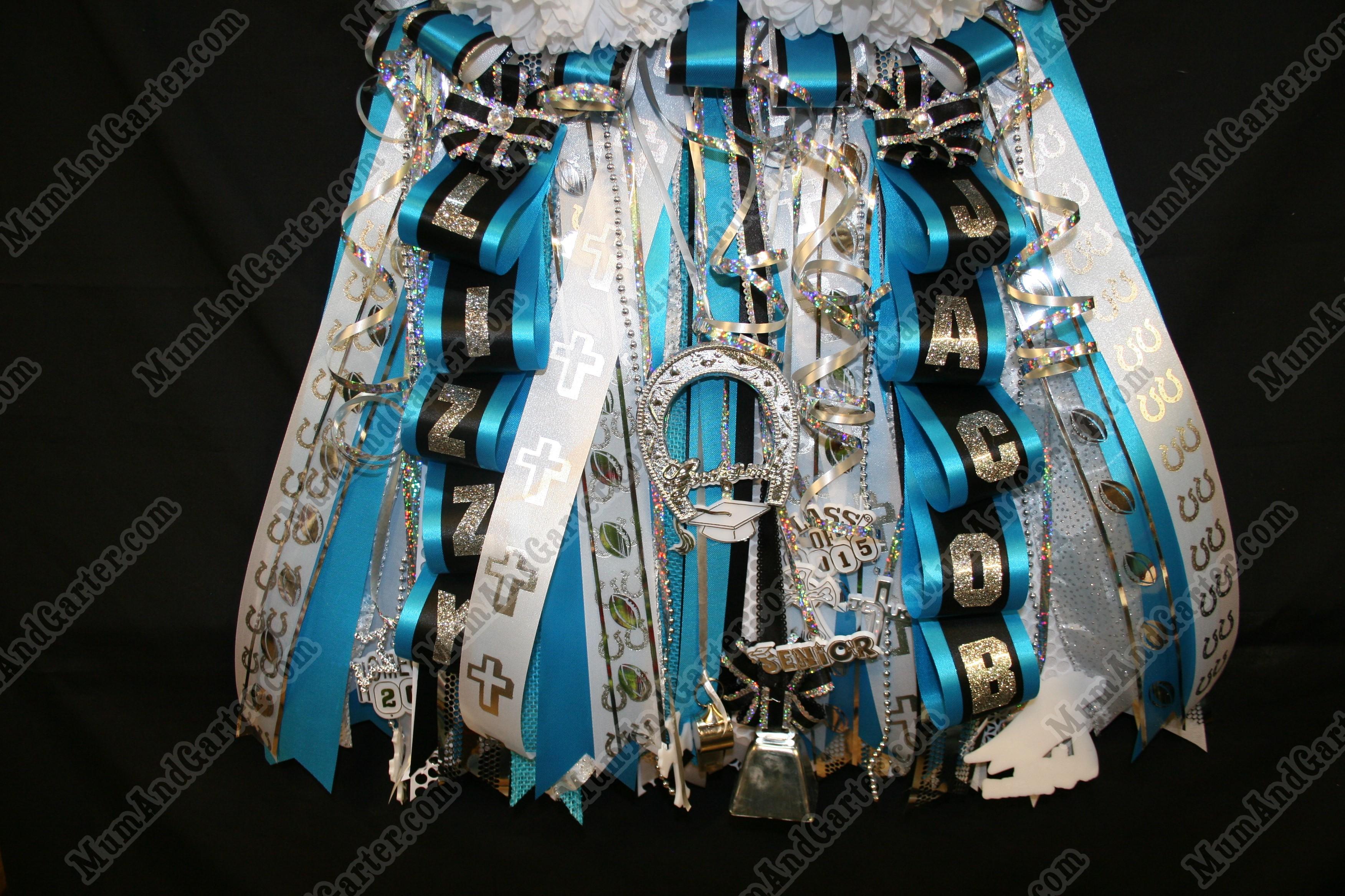 Senior Mega Garter Turquoise Skirt