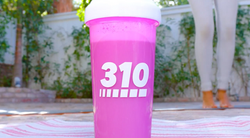"310 Nutrition ""Pink Shaker Cup"""