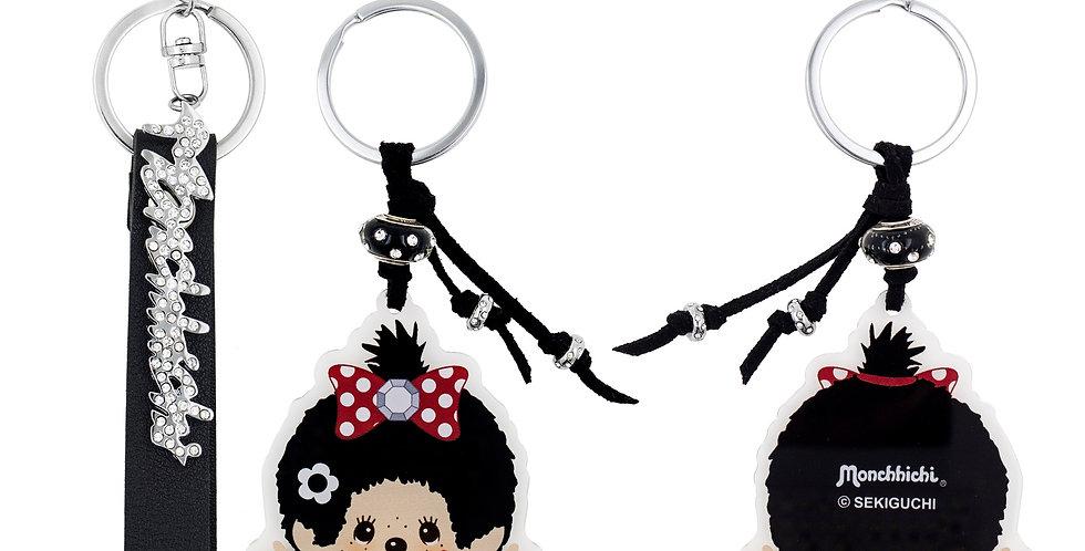 造型匙扣兩件裝(黑色)