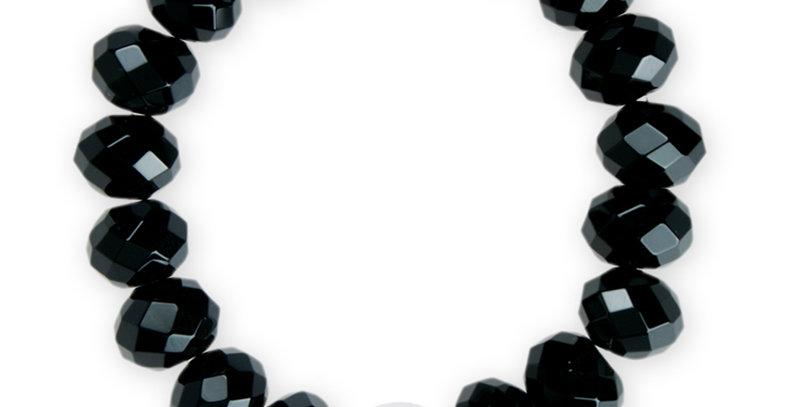 半寶石手鏈(黑瑪瑙)
