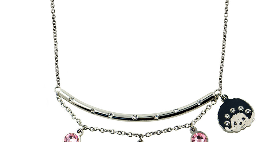 THE SMILE KIDS NECKLACE(SILVER)