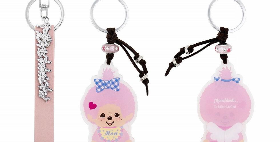 造型匙扣兩件裝(粉紅色)
