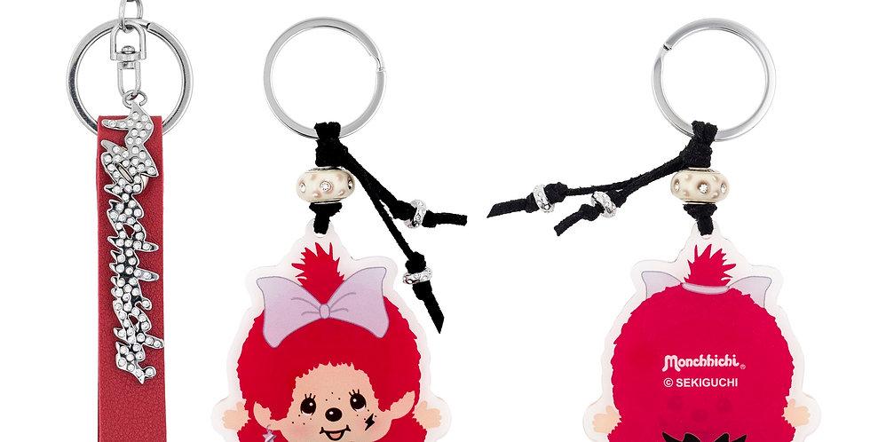 造型匙扣兩件裝(紅色)