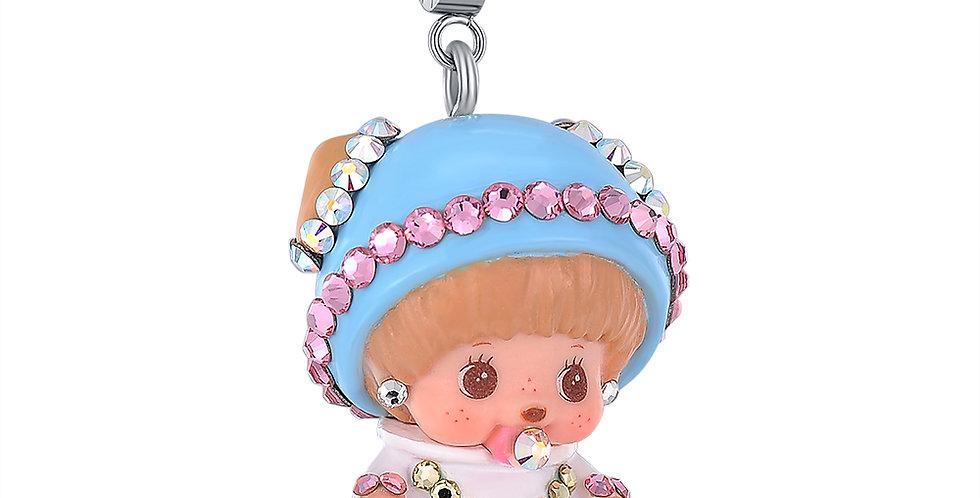 寶寶BCC吊墜(粉藍)