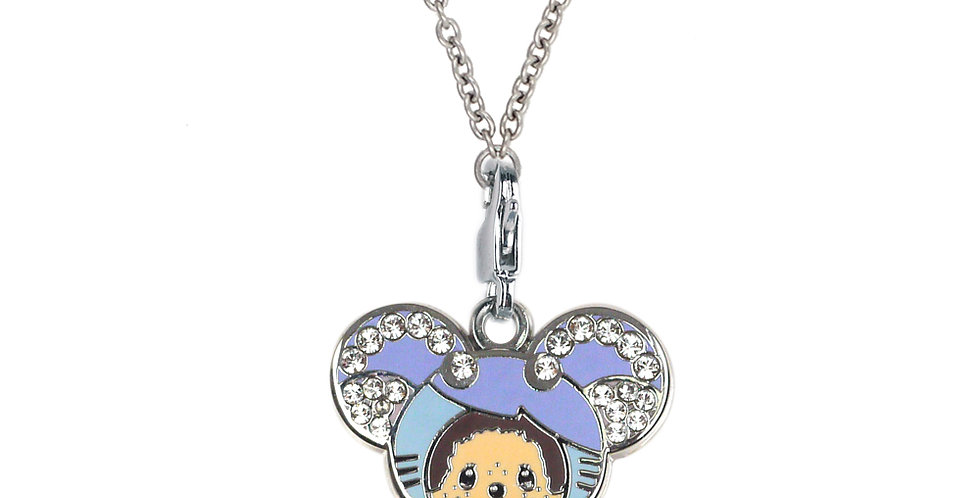 SWAROVSKI RAT CHARM NECKLACE