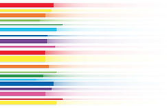 rainbow-line-abstract-art-background-vec