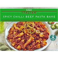 25 iceland_spicy_chilli_beef_pasta_bake_
