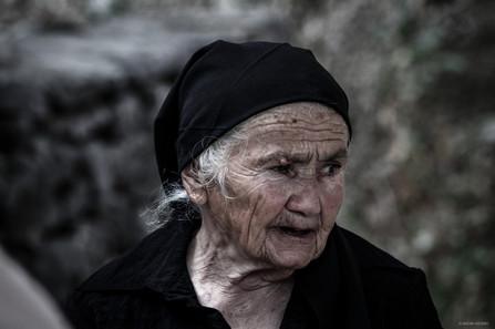 Portrait of a woman (Champ).