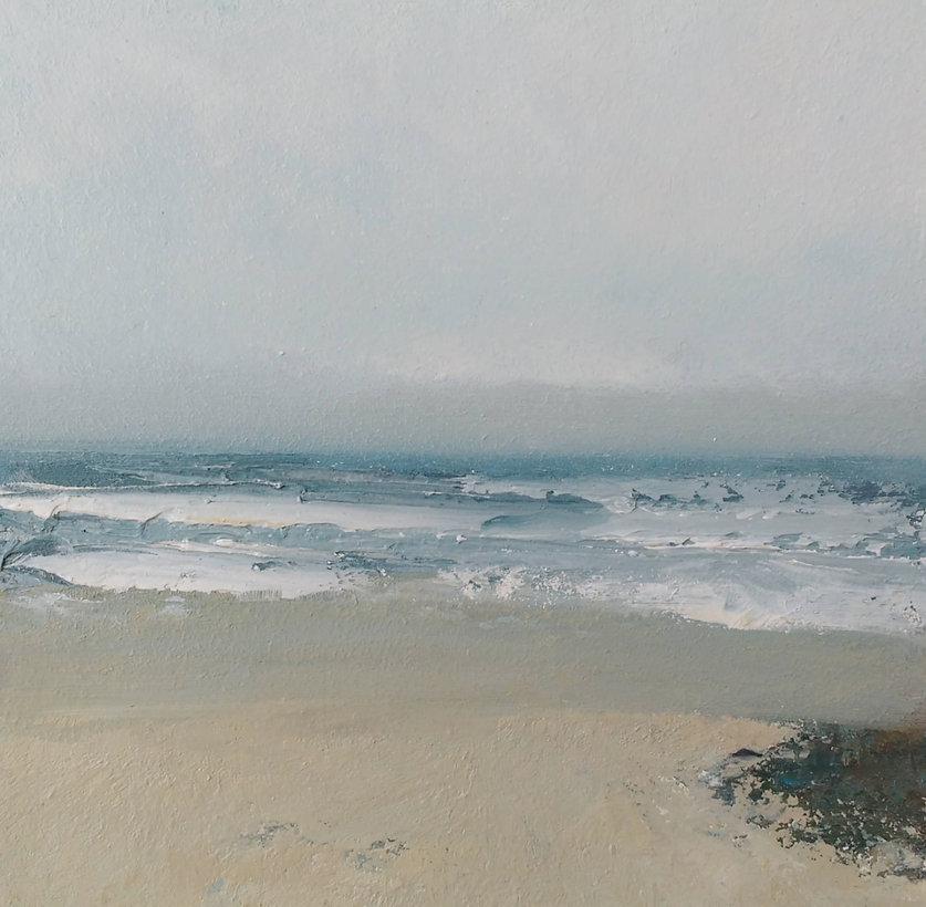 Sea Rushes Ashore