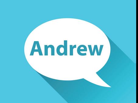 Meet Andrew!