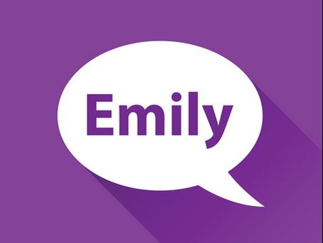 Meet Emily!