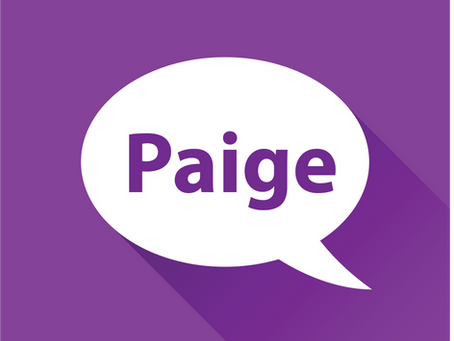 Meet Paige!