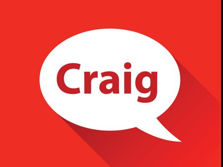 Meet Craig!