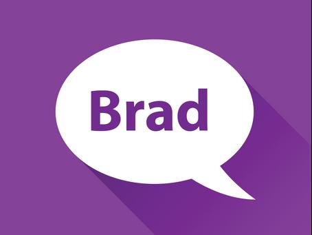 Meet Brad!