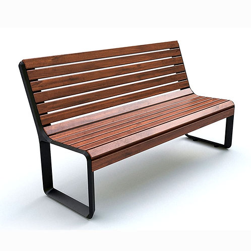 Скамейка чугунная шириной 1500 мм.