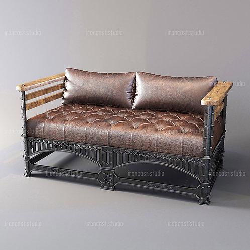 """Диван лофт """"IRONBOLT"""" мебель в стиле Loft - Industrial"""