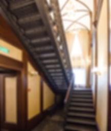 Чугунная маршевая лестница в приемной губернатора Ленинградской области