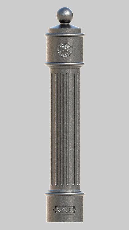 С-009 Столб чугунный