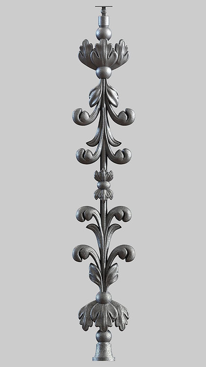 Балясина чугунная | Балясина алюминиевая