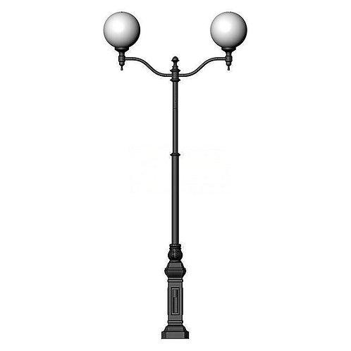 Столб фонарный чугунный