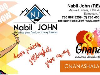 Door Prizes sponsored by Nabil John
