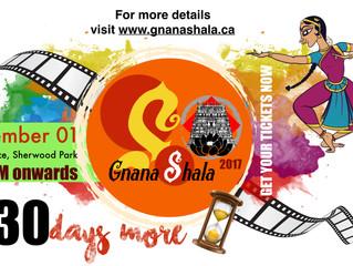 GnanaShala 2017 Countdown: 30 Days