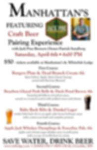 Jack PIne Pairing Experience Poster 2019