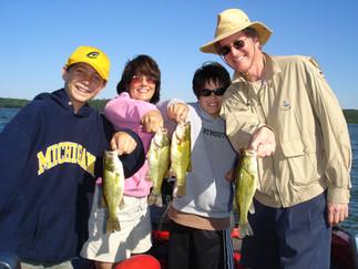 Fishing on the Whitefish Chain