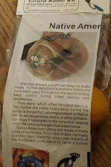 DIY Gourd Rattle Kit