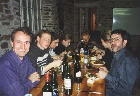 Dinner, Normandy Tour
