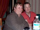 Neville Gibbings and Jason Bomford