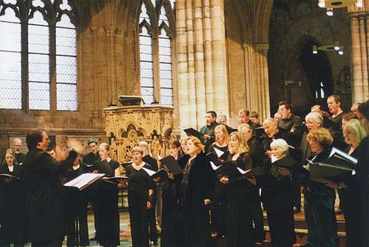 Exeter Cathedral - Dress rehearsal